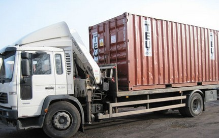 40 ft shipping container sending to Saudi Arabia